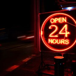what fast food are opened 24 hours